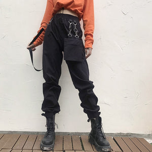 Combatant's Chained Cargo Pants - 82 Ave