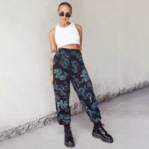 Dynasty Print Joggers - 82 Ave