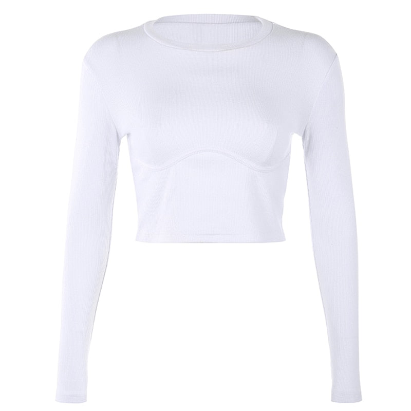 Ribbed Artemis Long Sleeve - 82 Ave
