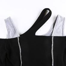 Load image into Gallery viewer, Spliced Cold Shoulder Top - 82 Ave