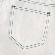 Load image into Gallery viewer, Split Seam Contrast Jeans - 82 Ave