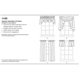 Kaava Simplicity 1152 - Window Treatments | Kuva 7