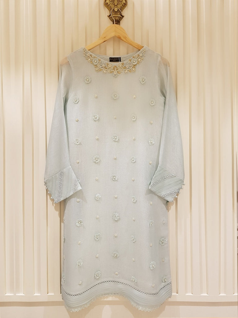 PURE COTTON NET SHIRT S100263