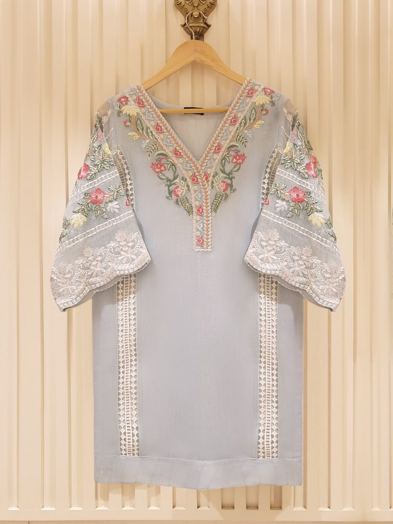 PURE COTTON NET SHIRT S100808