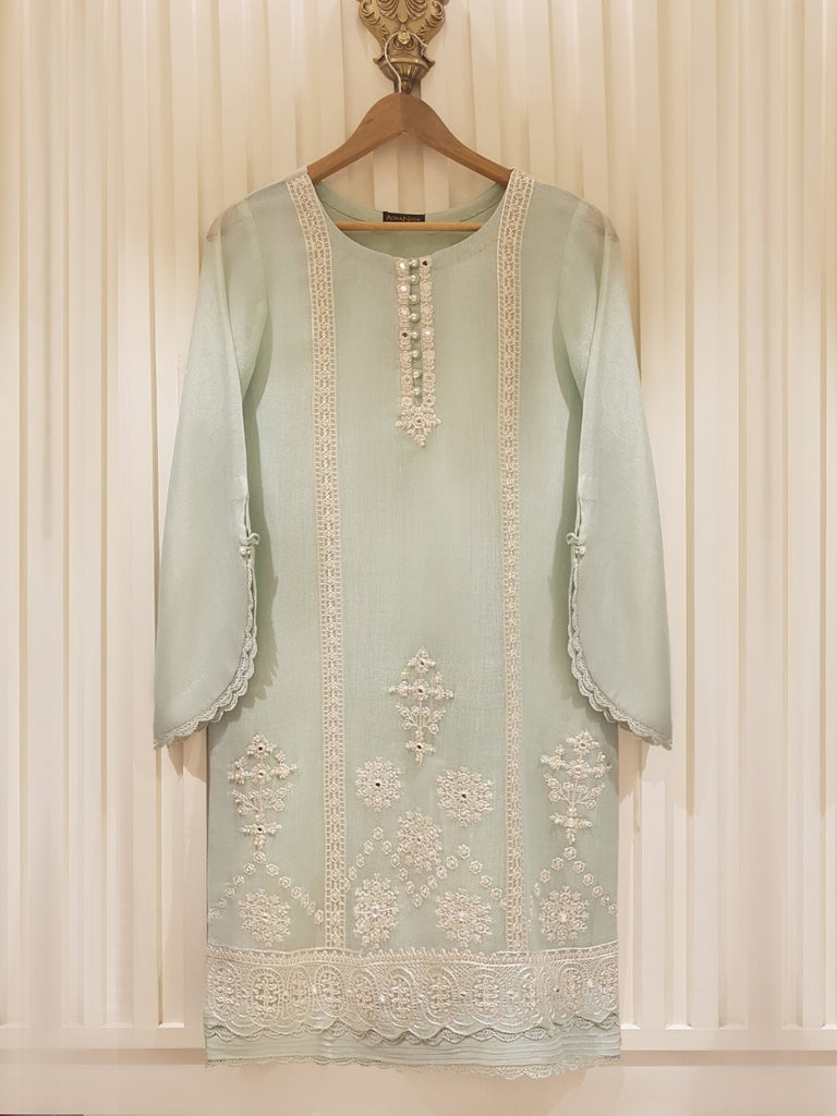 PURE COTTON NET SHIRT S101136