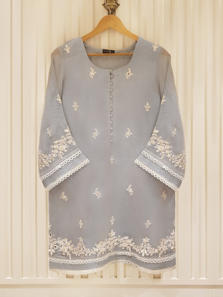 PURE COTTON NET SHIRT S101245