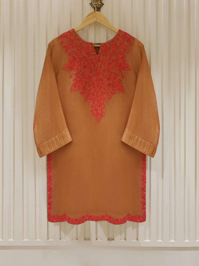 PURE COTTON NET SHIRT S101338