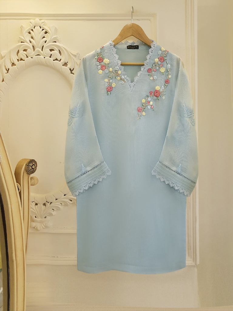 PURE COTTON NET SHIRT S101985