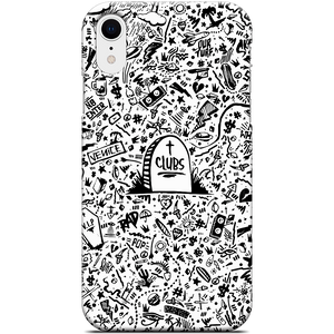 Death to Clubs iPhone Case