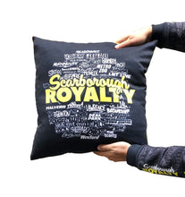 Load image into Gallery viewer, Scarborough Royalty Double-Sided Throw Pillow