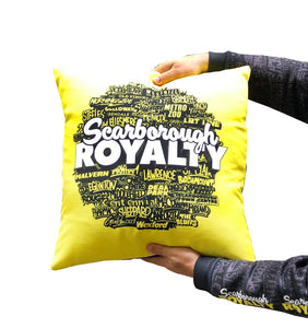 Scarborough Royalty Double-Sided Throw Pillow