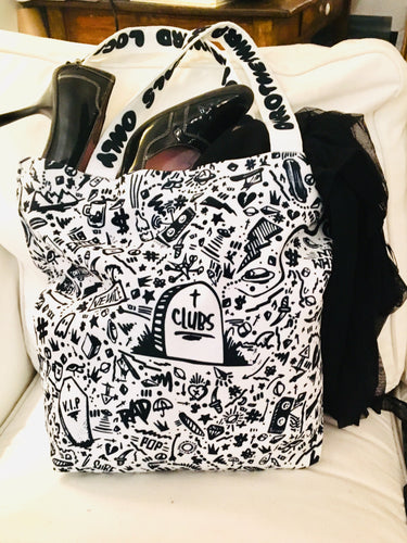 Death to Clubs Tote Bag