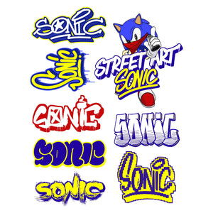 Sonic Sticker Pack