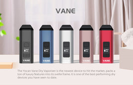 Yocan- Yocan Vane Advanced Portable Dry Herb Vaporizer