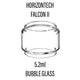HorizonTech - Falcon 2 Tank Replacement Glass