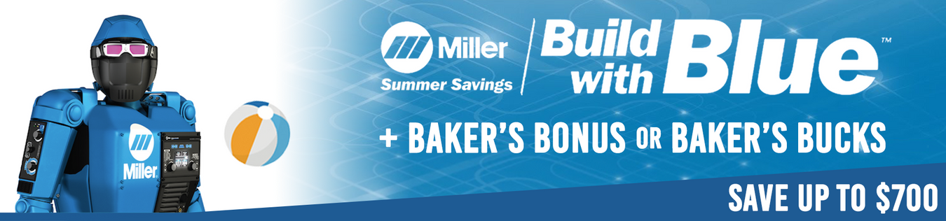 Miller - Build with Blue Summer Savings