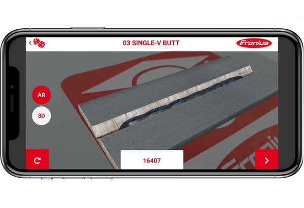 Fronius Welducation App for learning how to weld