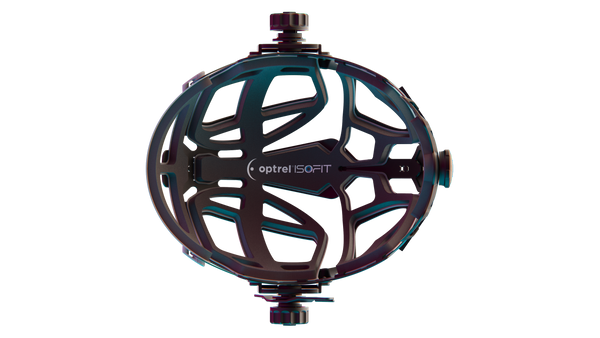 Optrel IsoFit Headgear shown from the bottom side