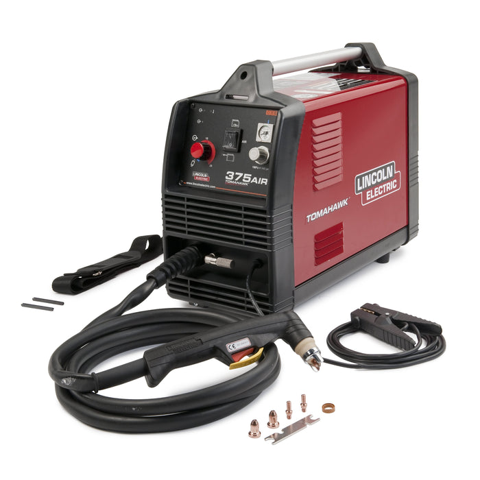 Tomahawk 375 Air plasma cutter Complete Package with Torch and Consumables