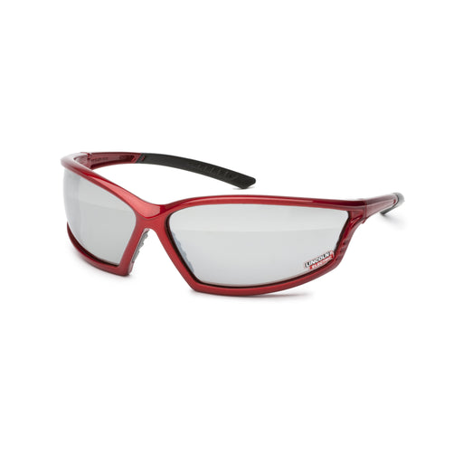 Lincoln Red Full Frame Safety Glasses