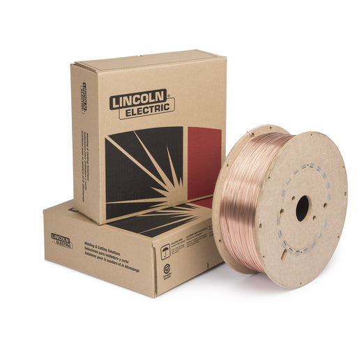 SuperArc MIG wire, fiber spool, available 44 LB
