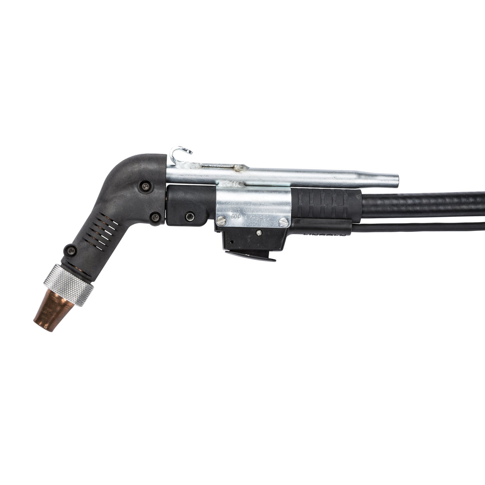 Handheld submerged arc gun (K113-1 for 5/64 diameter wire, K113-2 for 3/32 diameter wire.)