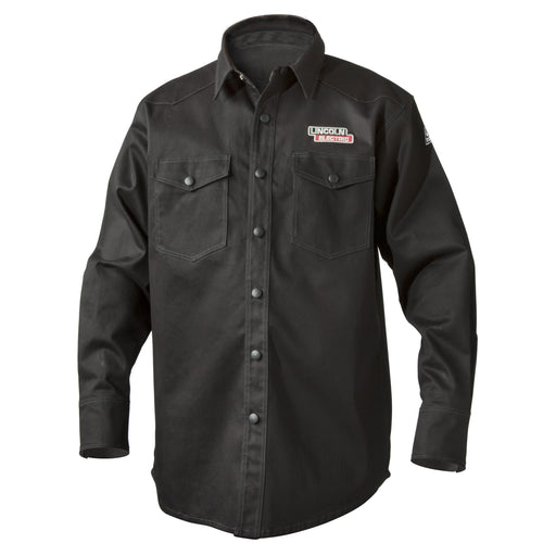 Lincoln FR Welding Shirt, Black - K3113