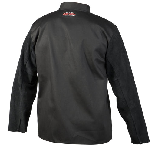 Lincoln Traditional Welding Jacket w/ Split Leather Sleeves - K3106
