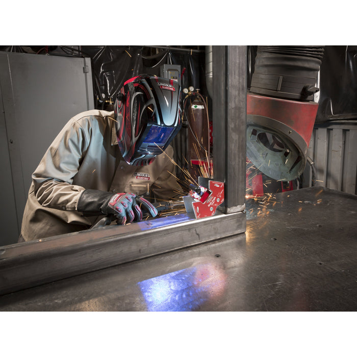 Lincoln Roll Cage Welding Rigging Gloves welding application