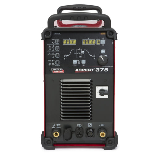 Lincoln Aspect 375 AC/DC TIG Welder Ready-Pak - K3946-2