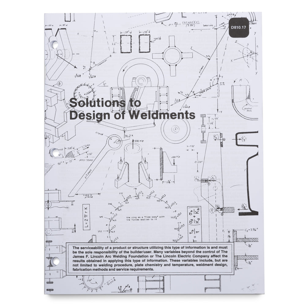 Solutions to Design of Weldments