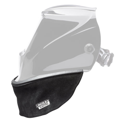 Welding Helmet Bib, Grain Leather Helmet