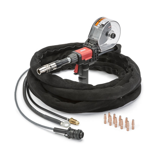 Spool gun for use with POWER MIG series machines