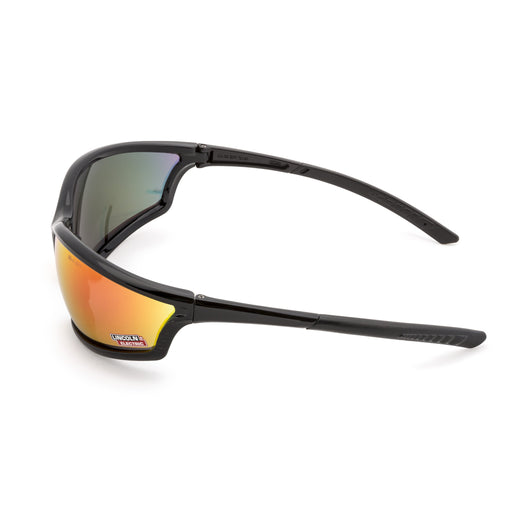 I-Beam™ Black Outdoor Welding Safety Glasses Side