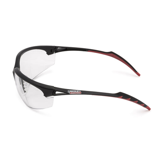 Finish Line Clear Indoor Welding Safety Glasses Side