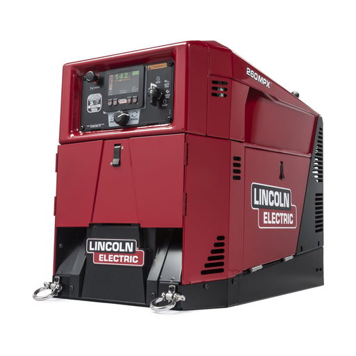 Lincoln Ranger 260 MPX Welder Generator view from the side