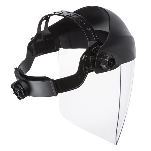 Back view of the Lincoln Omnishield Face shield with adjustable head gear