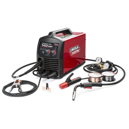 Lincoln POWER MIG 140 MP Multi-Process Welder - K4498-1