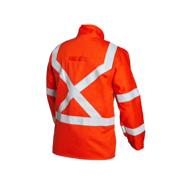 Lincoln Hi-Vis FR Jacket w/ Reflective Stripes - K4692
