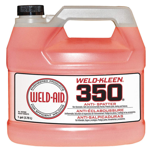 Weld-Aid Weld-Kleen 350 Anti-Spatter, 1 Gallon Bottle - 007090