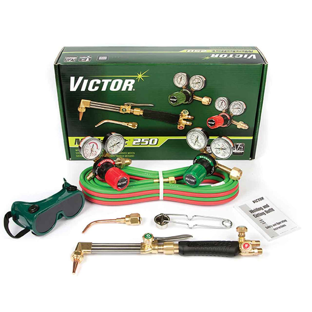 Victor Medalist 250 Acet. MD Outfit 540/510 G-250 Regs - 0384-2540