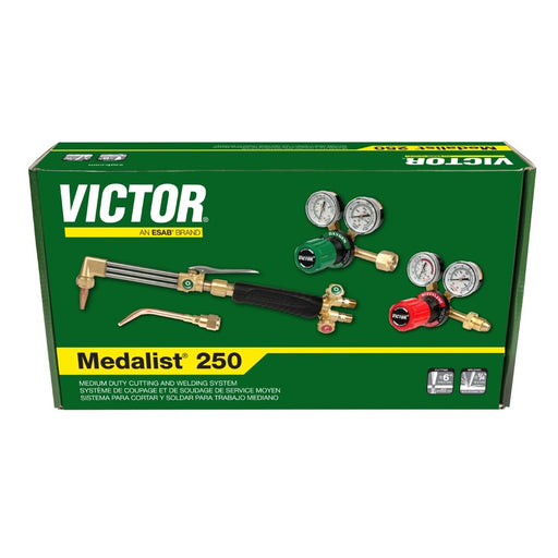 Victor Medalist 250 Acetyl. MD Outfit 540/300 G-250 Regs - 0384-2541