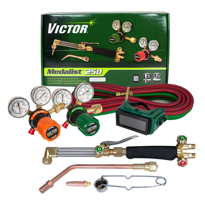 Victor Medalist 250 LP Med Duty Outfit-540/510LP G-250 Regs - 0384-2544