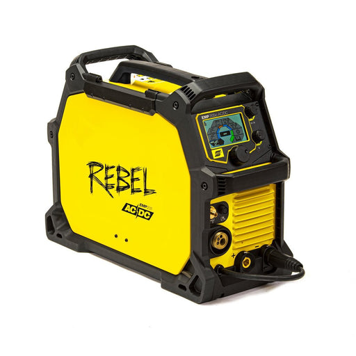 ESAB Rebel 205ic AC/DC Multiprocess Welder Side View