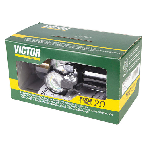 Victor EDGE 2.0 Single Stage CO2 Regulator, CGA-320, 0-40 psi - 0781-3642