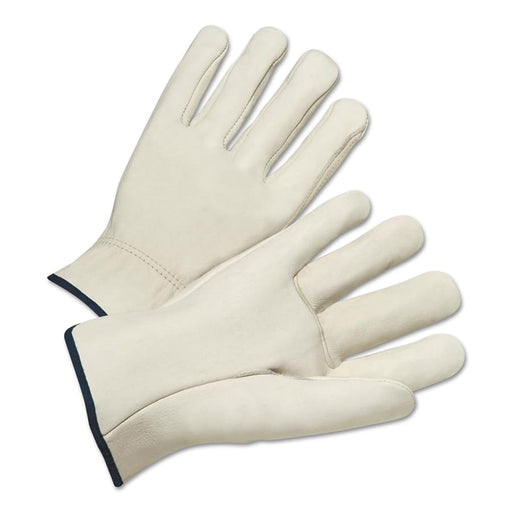 Best Welds 4000 Series Grain Cowhide Leather Driver Gloves, 12/pk - 4000