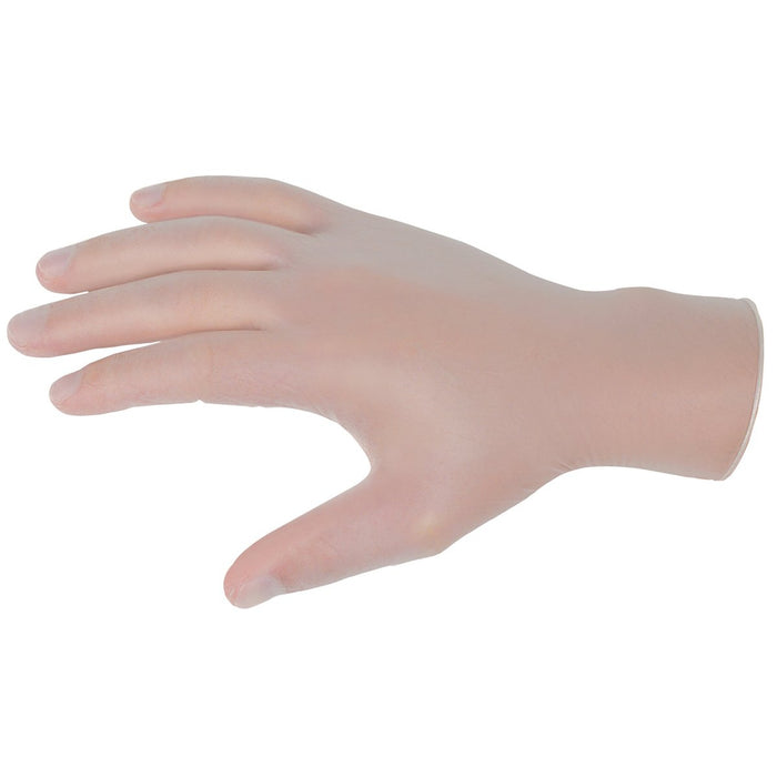 MCR Safety SensaTouch Medical Grade Disposable Gloves, 5 mil Clear Vinyl - 5010
