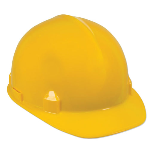 Jackson SC-6 Yellow Hard Hat w/ 391 Suspension - 14833