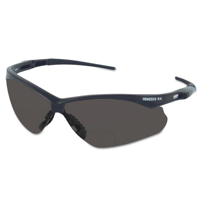 Kleenguard V60 Nemesis RX Safety Glasses, +2.0 Diopter, Anti-Scratch - 22518
