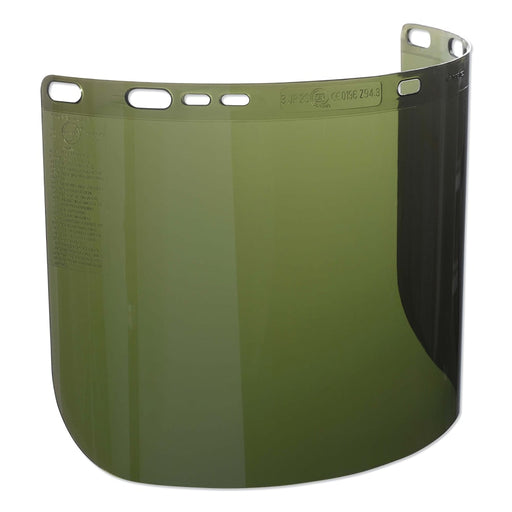 "Jackson F50 Polycarbonate Face Shield, 3463, IR/UV 3.0, 15 1/2"" x 8"" - 26262"